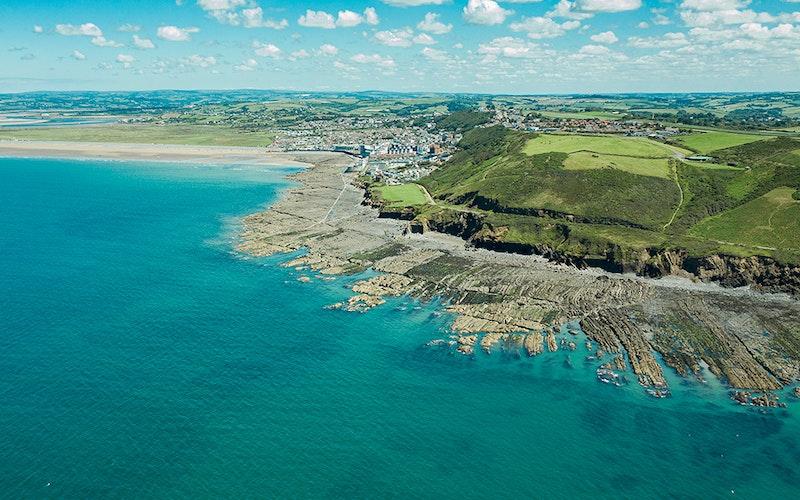 eco holiday cotages Westward Ho! North Devon